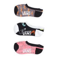 Foxey Soxey Canoodles 3 Pair Pack | Shop at Vans