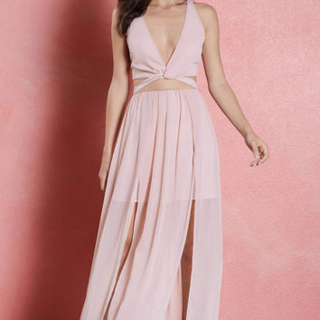 Love Song High Slit Maxi Dress
