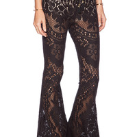 Spell & The Gypsy Collective Fleetwood Flairs in Black
