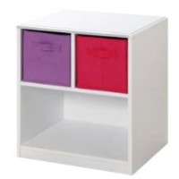 4D Concepts Girls 2 Drawer Nightstand -
