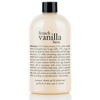 french vanilla bean ice cream | shampoo, shower gel & bubble bath | philosophy bath & shower gels