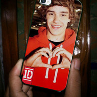 Liam Payne Heart Love One Direction - for iPhone 4 case iphone 4S case iPhone 5 Case iphone 4/4s/5 Case Hard Cover