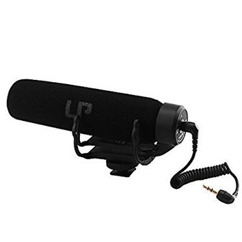Camera Microphone / Photography Interview Video Audio Camera Mic Shotgun Microphone for Nikon Canon DSLR Camera / Need 3.5mm Interface / Don't need Battery LP