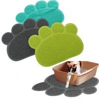 Home Decor Paw Shape Dog Placemat Puppy Pet Cat Dish Bowl Mats Food Water Mat Wipe Kitchen Tools = 5987786433