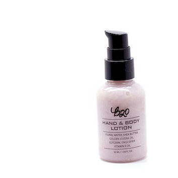 B20 Hand and Body Lotion. Lavender. Shea Butter. Natural Scented. No Fragrance or Essential Oil.