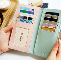 Multifunction Crown Wallet Billfold