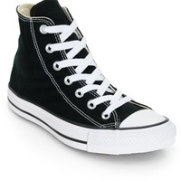 Converse Women's Chuck Taylor All Star Black High Top Shoes