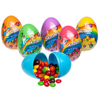 Skittles Filled Plastic Easter Eggs: 12-Piece Display