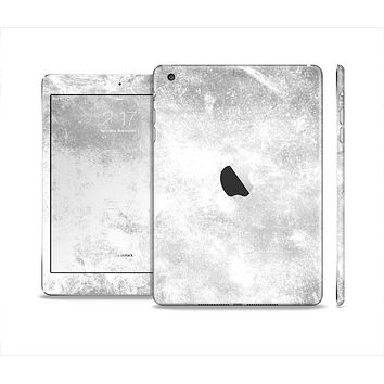 The White Cracked Rock Surface Skin Set for the Apple iPad Mini 4