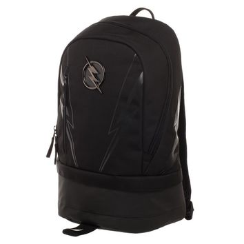 MPBP DC ZOOM Backpack  Black Polyester Backpack with Bottom Compartment