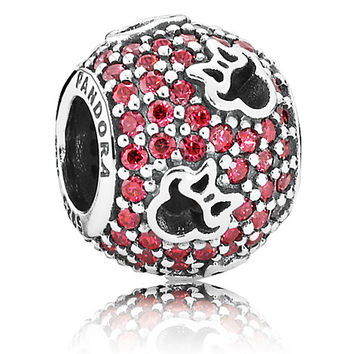 Minnie Mouse Silhouettes Charm by PANDORA | Disney Store