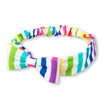 Toddler Girls Rainbow Stripe 3D Bow Headwrap | The Children's Place