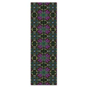 Beautiful Purple Blue And Black Yoga Mat> Full Color Designs> Energy Yoga Mats