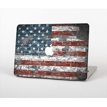 "The Vintage USA Flag Skin Set for the Apple MacBook Pro 13"" with Retina Display"