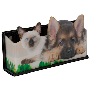 Puppy & Cat Fun Caddy Basket