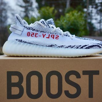 Adidas Yeezy Boost 350 V2 'Zebra' CP9654 Sizes 7-11 100% Authentic