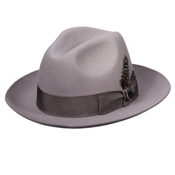 "Stacy Adams ""Cannery Row"" Wool Fedora"