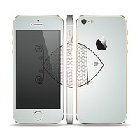 The Simple Vintage Fish on String Skin Set for the Apple iPhone 5s