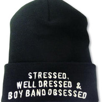 boy band obsessed Beanie
