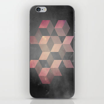 Pink & Gray iPhone & iPod Skin by DuckyB (Brandi)