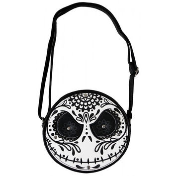Nightmare Before Christmas Sugar Skull Jack Crossbody Bag