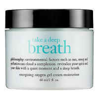 Take A Deep Breath Oil-Free Energizing Oxygen Gel Cream Moisturizer - philosophy | Sephora