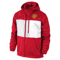 Nike Manchester United Winger Authentic Men's Soccer Jacket Size XS (Red)