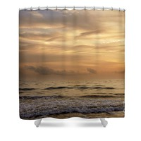 Golden Sea Shower Curtain for Sale by Ivy Ho