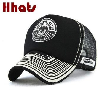 Trendy Winter Jacket which in shower breathable mesh baseball cap hip hop casual curved men summer snapback hat adjustable sunscreen trucker hat bone AT_92_12
