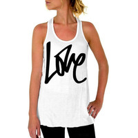 New  Style Women Sexy Letter Print Tops White Round Neck Sleeveless Fitness Quick Dry Loose Casual Tank Tops Lady#1207 SM6