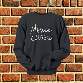 michael clifford art sweater Sweatshirt Crewneck Men or Women Unisex Size