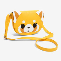 Aggretsuko Face Crossbody Bag
