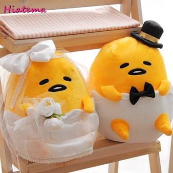 Hiatema New hot sale plush toy gudetama lazy egg kawaii stuffed doll hildren birthday Christmas gifts