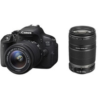 Canon EOS 700D Twin kit with 18-55 IS STM and 55-250mm IS II Lens Digital SLR Camera