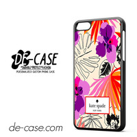Kate Spade Floral Pattern DEAL-6096 Apple Phonecase Cover For Iphone 5C