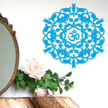 OM Pattern Vinyl Wall Decal