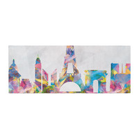 "Mareike Boehmer ""Paris"" City Rainbow Bed Runner"