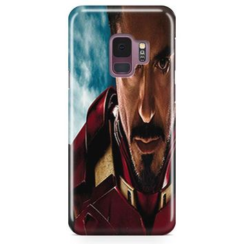 Tony Stark Iron Man 3 Samsung Galaxy S9 Plus Case | Casefantasy
