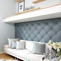DIY Upholstered Wall For Any Room | Shelterness