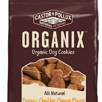 Organix Organic Dog Cookies Treats, Cheddar Cheese Flavor