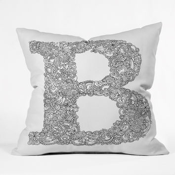 Martin Bunyi Isabet B Throw Pillow