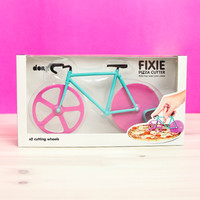 Fixie Pizza Cutter - Watermelon Bike