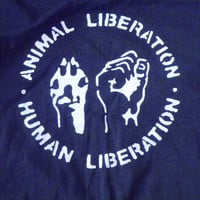 Animal Liberation T-Shirt , Vegan T-Shirt , Punk T-Shirt , Screen Printed T-Shirt , Crust Punk