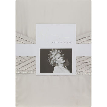 Double Silver Pleated Satin Duvet Cover 200TC - Bed Linen - Bed & Bath - Home - TK Maxx