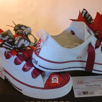 One Direction Crystal Converse-1D Converse teens and adult sizes
