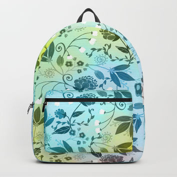 Floral Stock V2 Backpack by creativeaxle