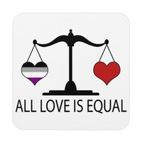 All Love is Equal with Asexual Heart