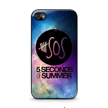 5 SECONDS OF SUMMER 1 5SOS iPhone 4 / 4S Case Cover