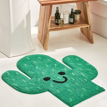 Cactus Bath Mat | Urban Outfitters