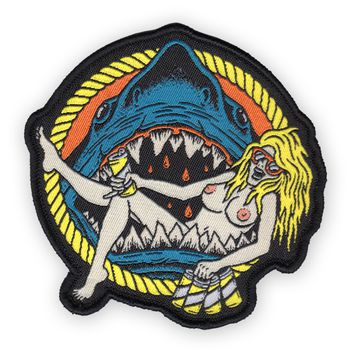 SHARK BABE Iron-On Patch *PRE-ORDER SHIPS NOV. 20TH*